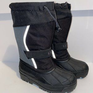 LL Bean Kids Youth Size 1 Winter Snow Boot